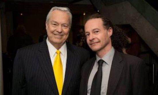 With the legendary Bill Kurtis in Toronto